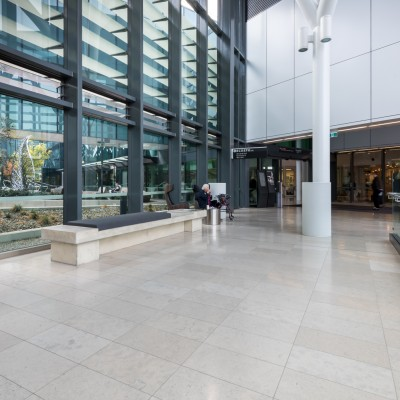 Limestone & Marble Tiles – Royal Adelaide Hospital | Commercial Ceramics & Stone - Commercial Building Projects