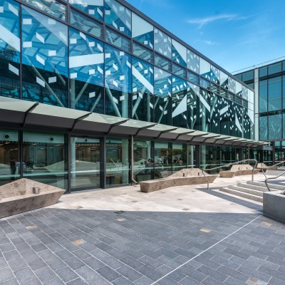 Limestone & Marble Tiles - Royal Adelaide Hospital | Commercial Ceramics & Stone - Commercial Building Projects